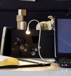 JANSJÖ candeeiro LED por USB