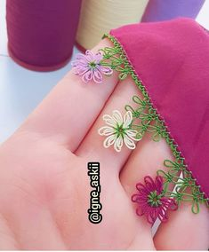 Simple Embroidery Designs, Crocodile Stitch, Needle Lace, Baby Knitting Patterns, Elsa, Needlework, Diy And Crafts, Embroidery Ideas, Lace
