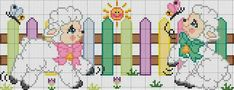 Baby Cross Stitch Patterns, Cross Stitch Baby, Cross Stitch Animals, Baby Cocoon, Easter Cross, Animal Crackers, Square Quilt, Cross Stitching, Baby Quilts
