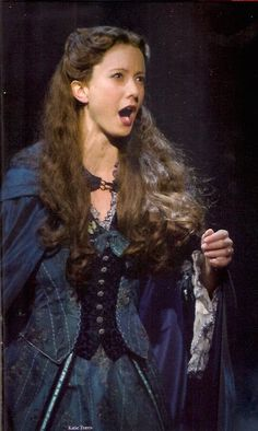 Katie Travis as Christine. I saw her live this year as my first time watching Phantom of the Opera and it was AMAZING!
