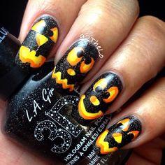 HALLOWEEN by g2thelo   #nail #nails #nailart