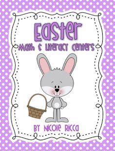 Mrs. Ricca's Kindergarten: Easter Centers + FREEBIE