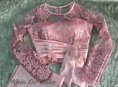 Saree Blouse Neck Designs, Fancy Blouse Designs, Myanmar Dress Design, Stylish Blouse Design, Designer Blouse Patterns, Indian Designer Outfits, Traditional Fashion, Burmese, Kebaya