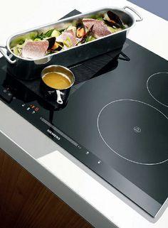 With powerInduction by #siemens #cooking is faster, safer and cleaner than ever before. #kitchen // Die powerInduktion von #siemens macht #kochen jetzt schneller, sicherer und sauberer als je zuvor. #enjoysiemens #kueche