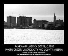 PREPARATION FOR FINAL DEMOLITION OF RANKS, DOCK ROAD, LIMERICK, 1980