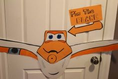 pin the propeller on the plane game | Disney Planes Theme: 4th Birthday Party