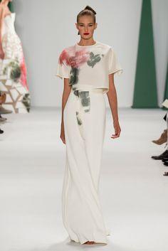 Carolina Herrera Spring 2015 Ready-to-Wear Fashion Show - Sanne Vloet (New York Models)