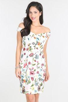 Sheath Shape Floral Dress NKD14177 Wholesale Prom Dresses 88fbcc248