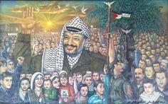 Palestinian artist: Fathi Ghaben