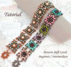KOTAK beaded bracelet beading tutorials and patterns superduo