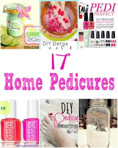 Pedicure Ideas for National No Socks Day | Crafting in the Rain #pedicure #footsoak #bathsalts