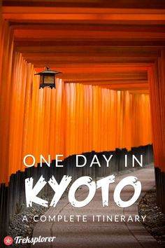 Only got one day in Kyoto? Kick-start your trip with this complete itinerary for 24 hours in Kyoto! Includes suggestions for what to do, what to eat and where to stay. Kyoto Japan, Tokyo Japan, Japan Trip, Okinawa Japan, Tokyo To Kyoto, Tokyo Trip, Fukuoka Japan, Tokyo 2020, Japan Travel Guide