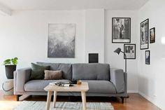 BW in the corner / Hviitblogg.no Corner, Couch, Living Room, Furniture, Home Decor, Settee, Decoration Home, Sofa, Room Decor