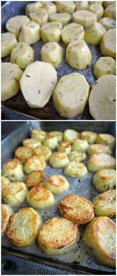 The Cooking Actress: Melting Roasted Potatoes. A recipe for your new favorite side dish!