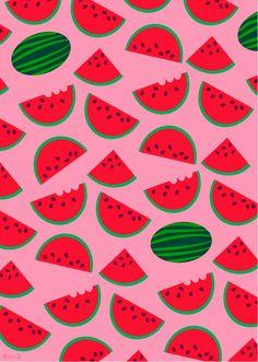 Ilustración Sandía/Watermelon de Polita