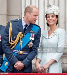 There's a lot of love happening in the royal family these days. But Prince William and Kate Middleton will always be our OG favorite royal couple. Prince William And Catherine, Prince William And Kate, King William, Duke And Duchess, Duchess Of Cambridge, Raf Centenary, Kate Middleton Style, Pippa Middleton, Princess Charlotte