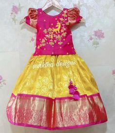 Kids Lehanga Design, Girls Frock Design, Long Dress Design, Baby Dress Design, Kids Frocks Design, Kids Blouse Designs, Hand Work Blouse Design, Baby Girl Dress Patterns, Toddler Girl Dresses