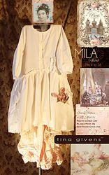 Mila Shirt PRINT sewing pattern by tina givens