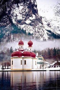 St. Bartholoma - Lake Konigssee, Germany