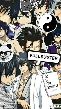 Discover recipes, home ideas, style inspiration and other ideas to try. Grey Wallpaper, Cute Anime Wallpaper, Cute Cartoon Wallpapers, Fairy Tail Meme, Fairy Tail Gray, Nalu, Fairytail Natsu, Fairy Tail Characters, Anime Characters
