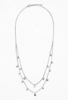Mini Coin Charm Necklace | Forever 21 - 1000162094 in GOLD