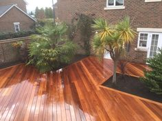 At London Decking Company we create beautiful timber and composite decking areas throughout the London,UK, using the best materials and experienced staff. Hardwood Decking, Decking Area, Composite Decking, Surrey, London, Outdoor Decor, Beautiful, Home Decor, Decoration Home