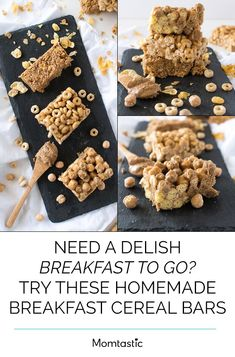 These breakfast cereal bars are easy to make ahead, so you can enjoy them throughout the week.