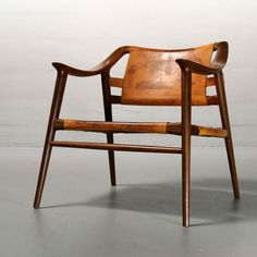 Rolf Rastad & Adolf Relling Bambi Lounge Chair, 1954, Norway ...