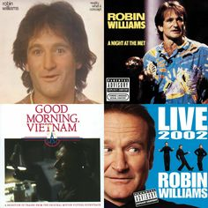 Although #RobinWilliams is most recognized for his film and television work, he has also received five #GRAMMYs:   Best Comedy Recording – Reality...What A Concept [1979]   Best Comedy Recording – A Night At The Met [1987]   Best Comedy Recording – Good Morning, Vietnam [1988]   Best Recording For Children – Pecos Bill [1988]   Best Spoken Comedy Album – Robin Williams - Live [2002]  Thank you for the laughs.