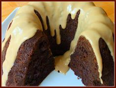 Bailey's Mud Slide Cake....    If you love a super moist bundt cake then you wont be disappointed with this recipe.