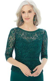 Designer Mother of the Bride Dresses | Morilee - Part 2 Long Sleeve Evening Gowns, Evening Dresses, Aisle Style, Pageant Dresses, Bride Dresses, Fit And Flare Skirt, Mori Lee, Crepe Fabric, Groom Dress