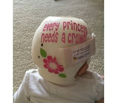 Personalized Cranial Band Fairy Decals Just Tinkering With A - Baby helmet decalspersonalized cranial band fairy decals just tinkering