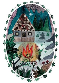 Fairytales- 2013 by Mihaela Paraschivu, via Behance