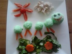 School Lunch Box, Rice Balls, Bento, Caterpillar, Lunch Ideas, Ethnic Recipes, Blog, Kids, Magazine