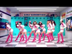 Girls' Generation (SNSD) - Oh! (오!) Please note the cameo of the Hawekeye helmet at :34.. GO HAWKS!