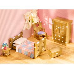Calico Critters Country Bedroom Set