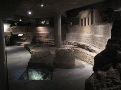 Basilica di Santa Tecla, scavi archeologici sotto piazza Duomo, Milano.