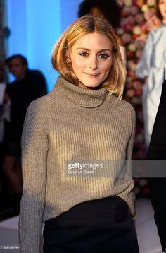 Fotografia de notícias : Olivia Palermo attends the launch of new luxury...