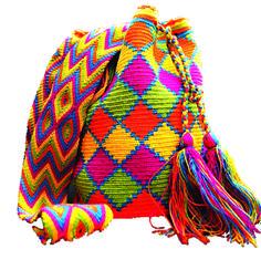 grafico com figuras geometricas bolsas wayuu - Pesquisa Google