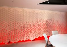 """""""Link"""" by Gensler and FilzFelt Brings Color and Texture to Screens and Wallcoverings,Courtesy of FilzFelt"""