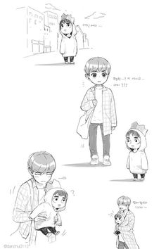 #chansoo fanart ~haha xd awwn that's cute :3