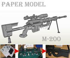 Modelo-de-papel-3D-M200-francotirador-Rifle-hechos-a-mano-DIY-papel-pistola-de-juguete-1.jpg (750×624)