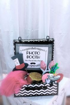 Photo booth props at an Alice in wonderland birthday party! See more party plann. - Photo booth props at an Alice in wonderland birthday party! See more party planning ideas at CatchM - Mad Hatter Party, Mad Hatter Tea, Mad Hatter Birthday Party, 16th Birthday, Birthday Parties, Girl Birthday, Birthday Sash, Women Birthday, Birthday Celebration