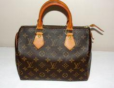 Louis Vuitton Speedy 25 Monogram Bag - Satchel $375