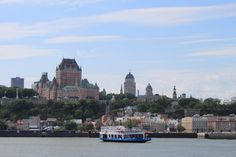 View of Old Quebec City from the water. Photo by Natalya Kuzmina