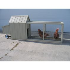 You'll love the Berlin Chicken Tractor with Chicken Run at Wayfair - Great Deals on all Furniture products with Free Shipping on most stuff, even the big stuff.