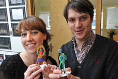 Resoluut creates personalized figurines of its employees.