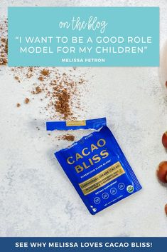 An indulgent treat you can actually feel good about sharing with your kids? What could be better?! See why Melissa loves using Cacao Bliss to model healthy eating habits for her children. Healthy Chocolate, How To Make Chocolate, Smart Snacks, Organic Supplements, Healthy Eating Habits, Yummy Drinks, Superfoods, Feel Good, Bliss