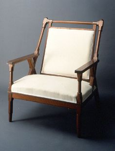 Arts and Crafts Armchair by Christopher Dresser / ca. 1880-1883 / Wolfsonian FIU