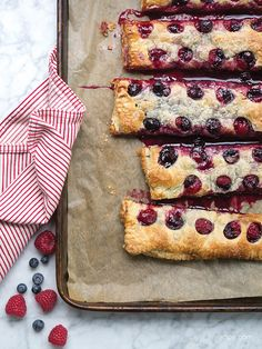 Berry Slab Pie